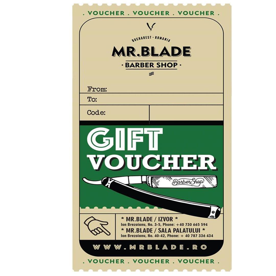 Voucher Mr.Blade