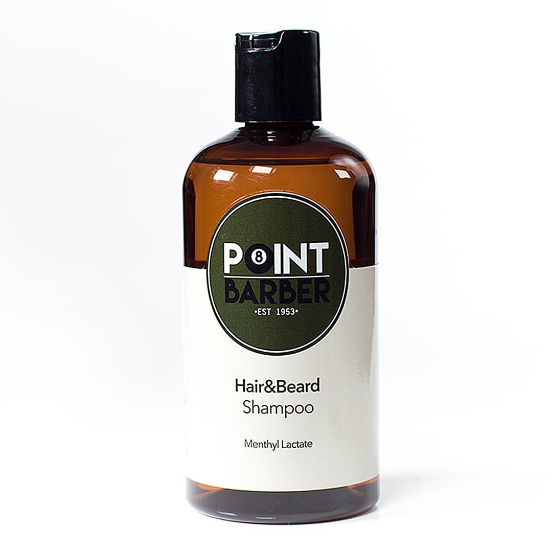 Șampon de păr și barbă Point Barber, 300ml