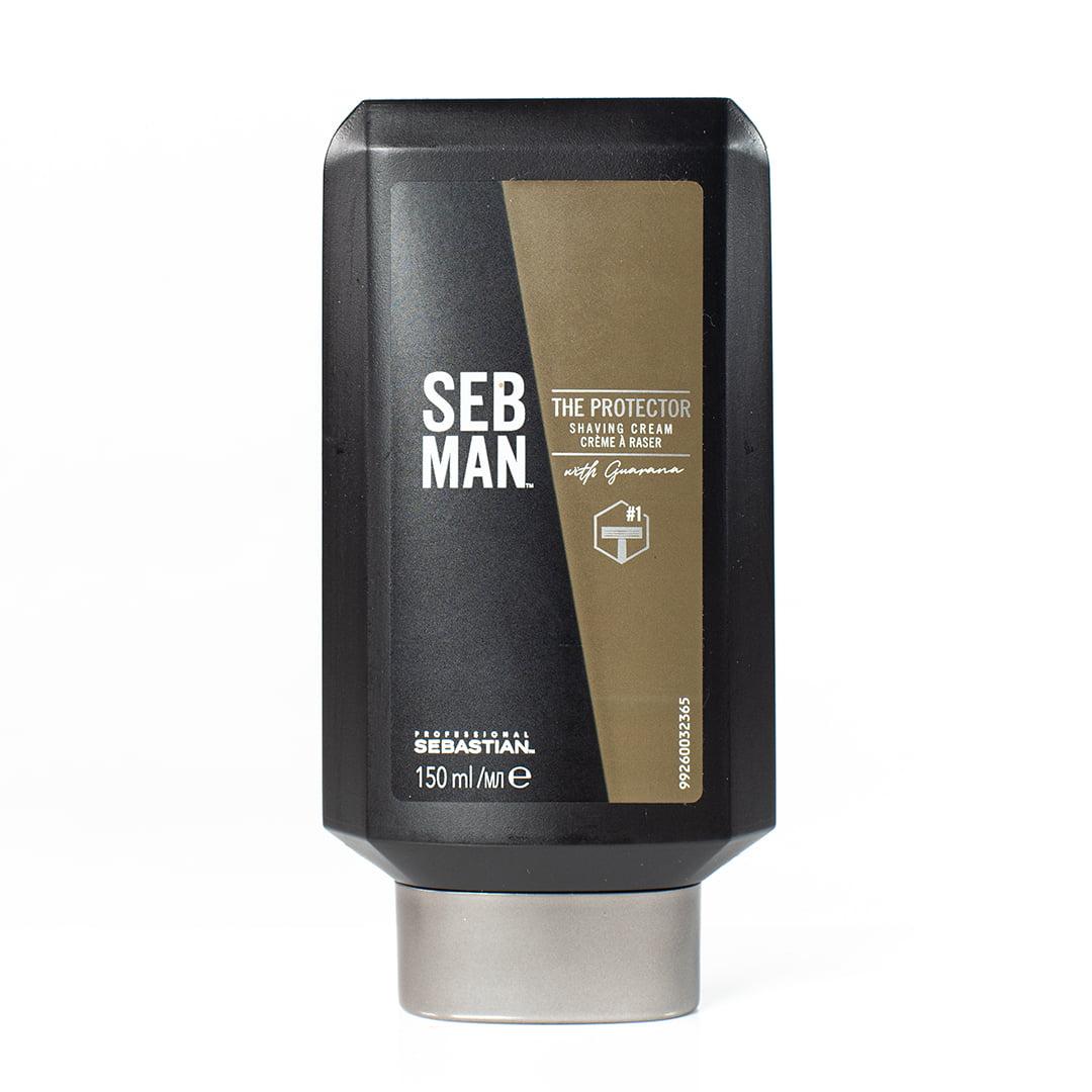 Cremă pentru bărbierit, Sebman, The Protector, 150 ml