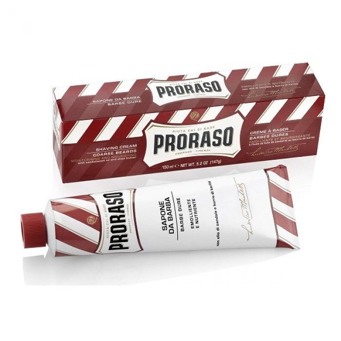 Cremă de bărbierit Proraso cu ulei de santal, 150 ml