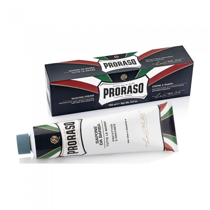 Cremă de barbierit Proraso cu Aloe Vera, 150 ml