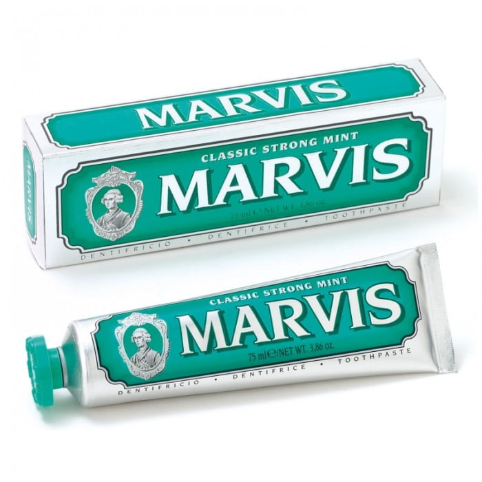 Pastă de dinți Marvis Classic Strong Mint, 75 ml