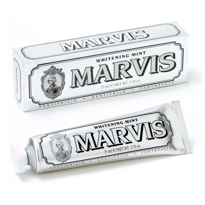 Pastă de dinți Marvis Whitening Mint, 75 ml