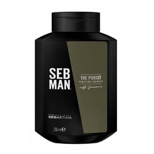 Șampon antimătreață Sebman, The Purist, 250ml